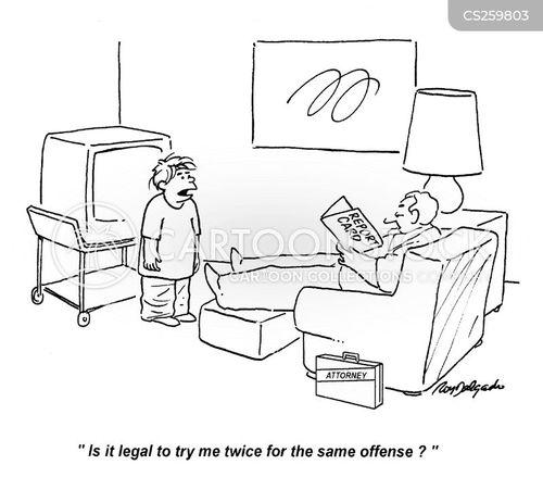 offenses cartoon