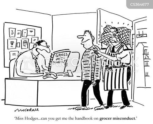 handbooks cartoon
