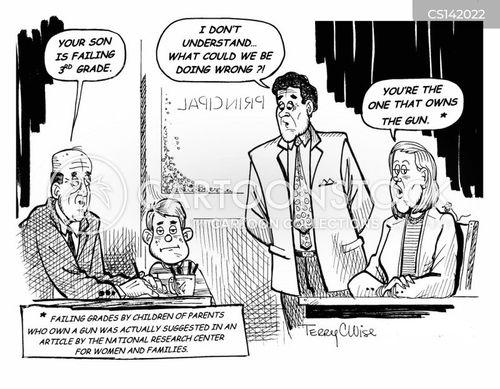 gun ownership cartoon