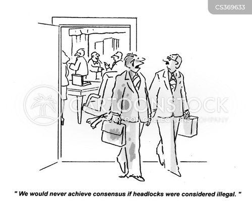 resolving cartoon