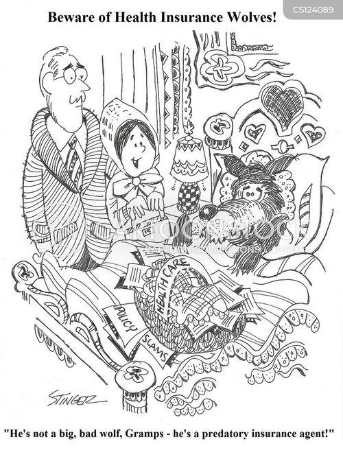 insurance agents cartoon