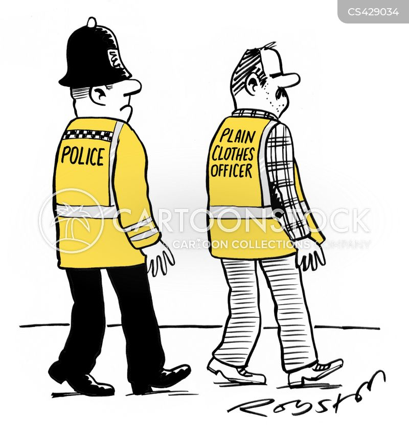 high vis cartoon