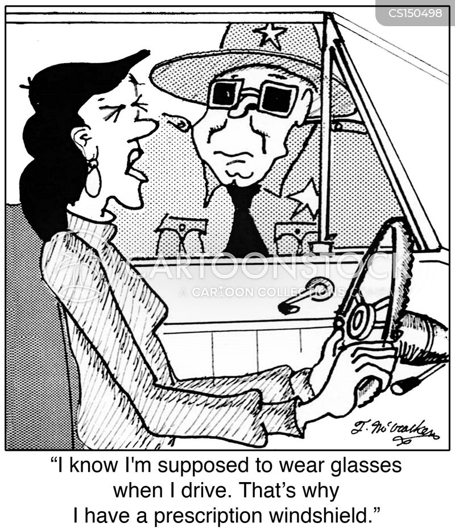 eye prescriptions cartoon