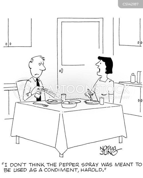 pepper mills cartoon
