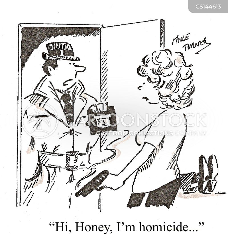 police detectives cartoon