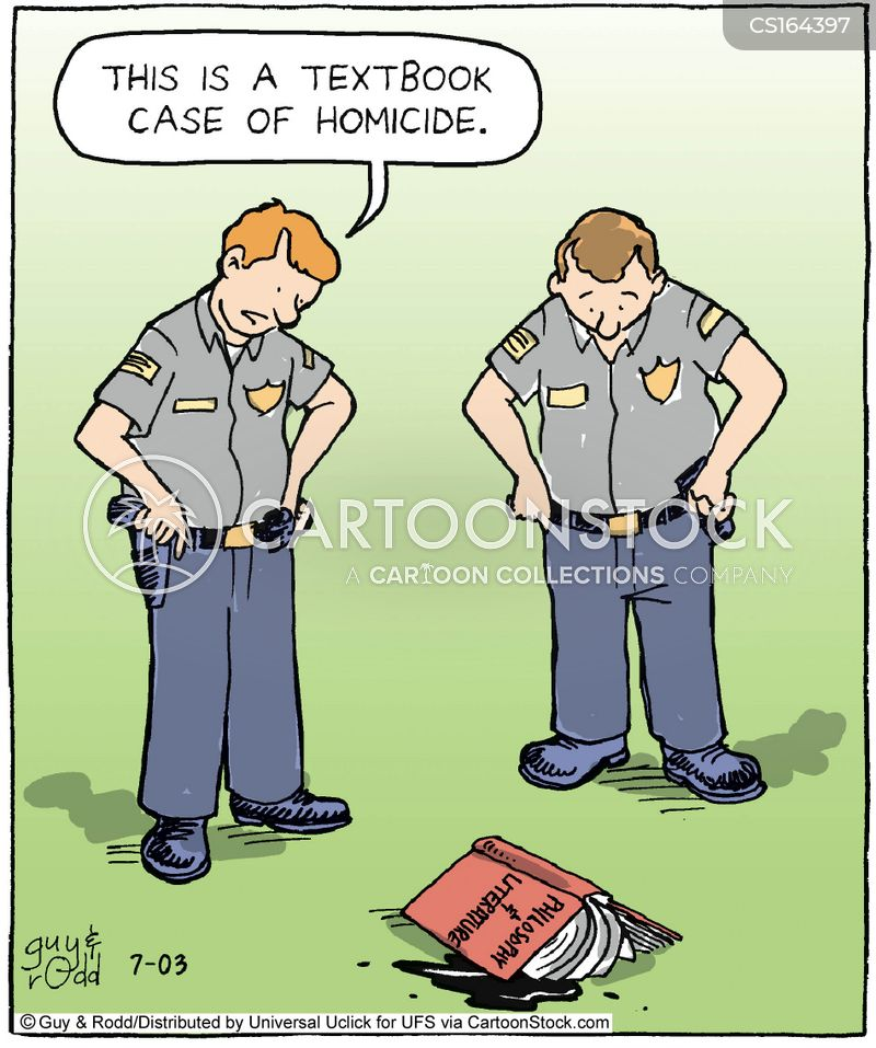 cop cartoon