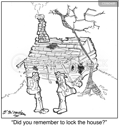 locksmithing cartoon