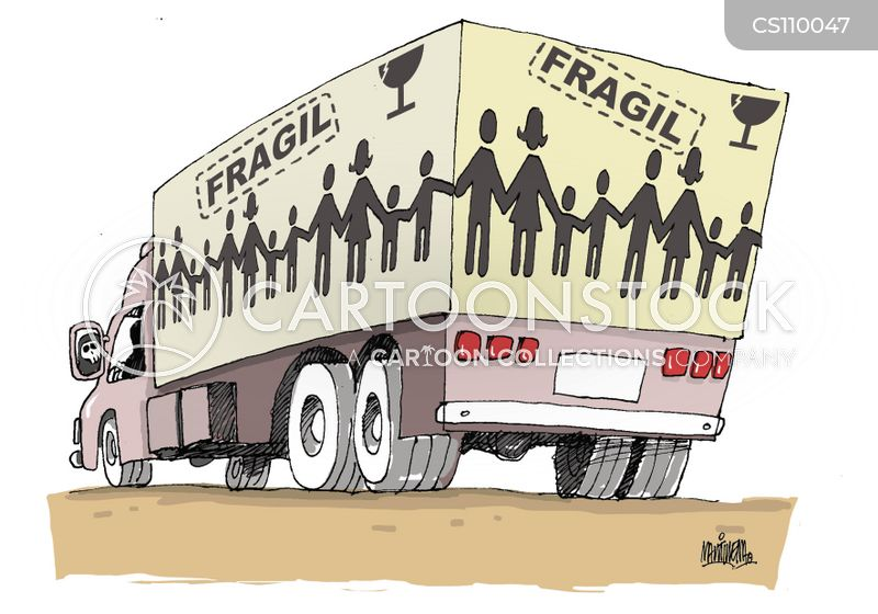 people smuggler cartoon