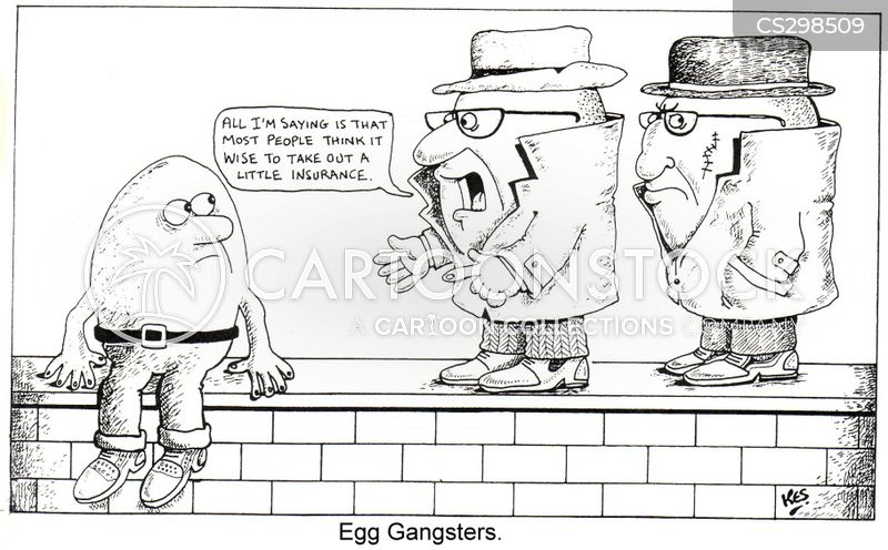 protection racket cartoon