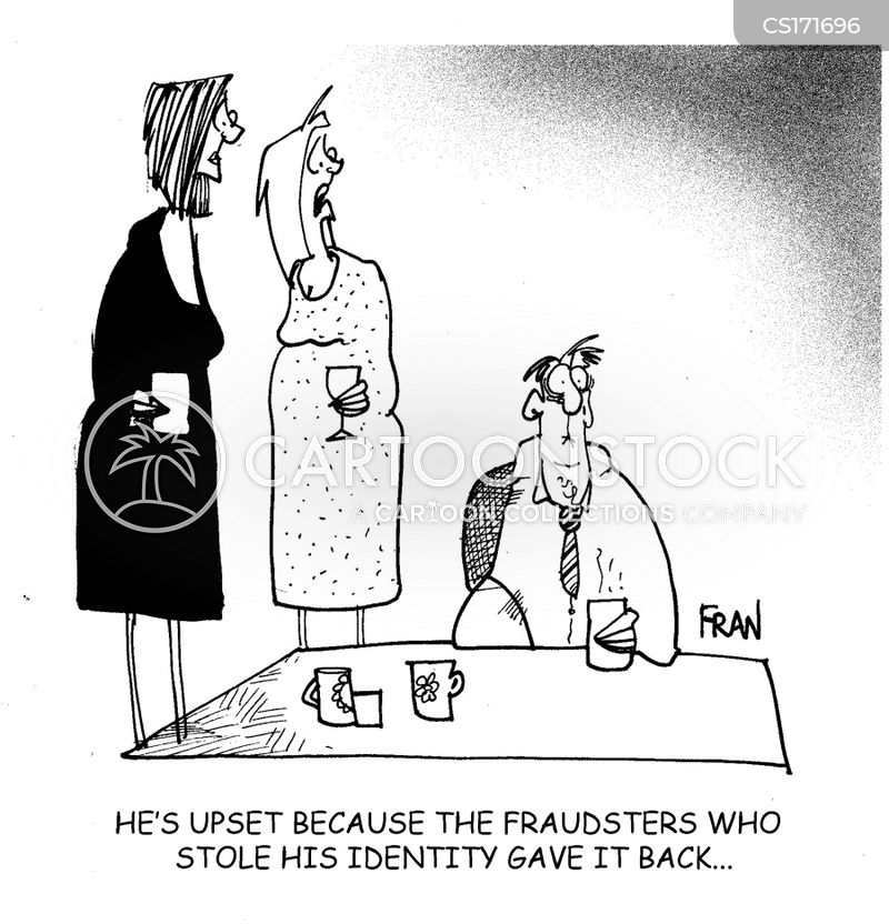 fraudulant cartoon