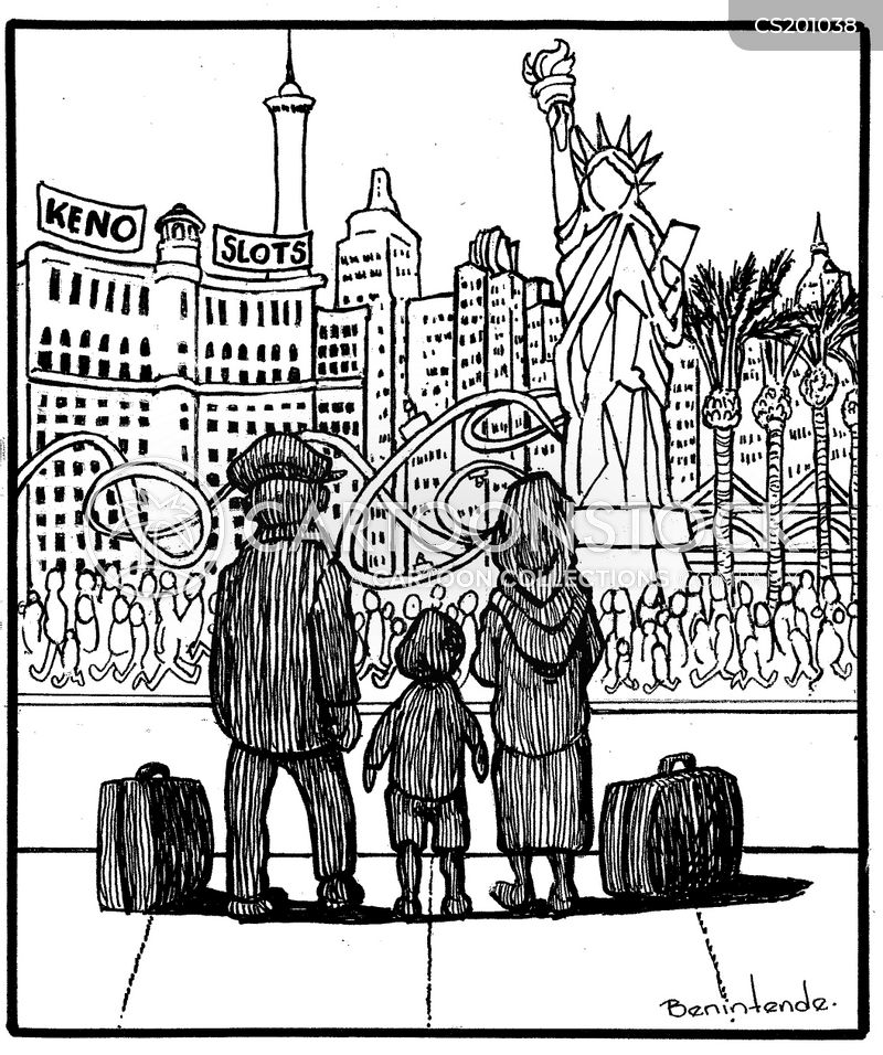 Immigration News: Ellis Island Cartoons And Comics
