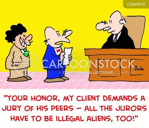 illegal aliens cartoon