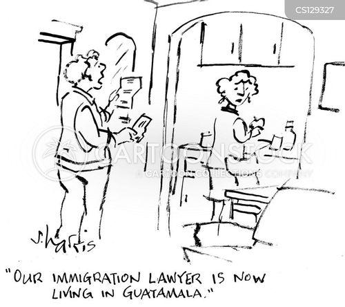 undocumented workers cartoon