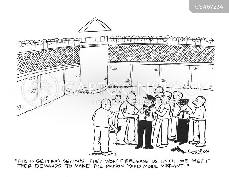 hostage situation cartoon