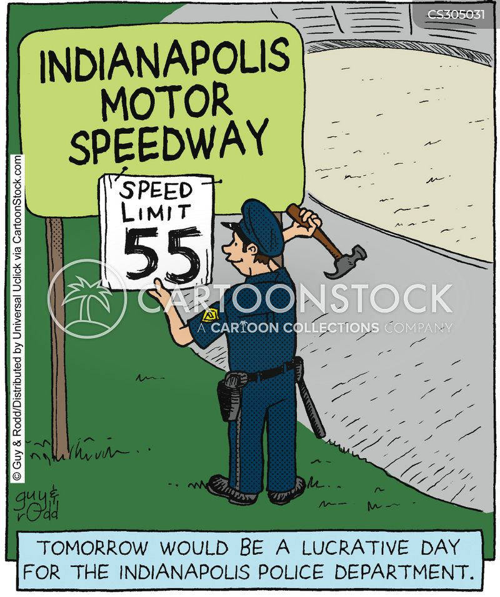 indianapolis cartoon