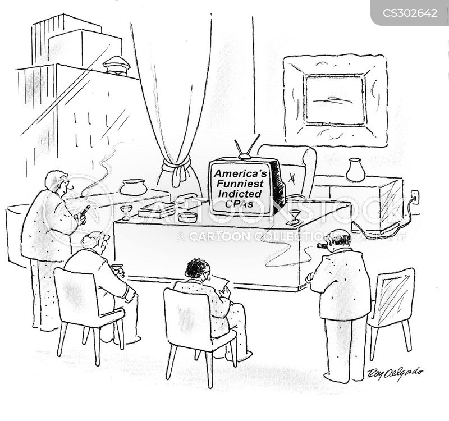 indicted cartoon