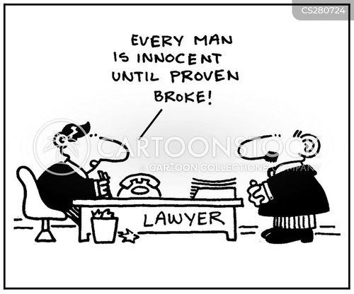 innocent until proven guilty cartoon