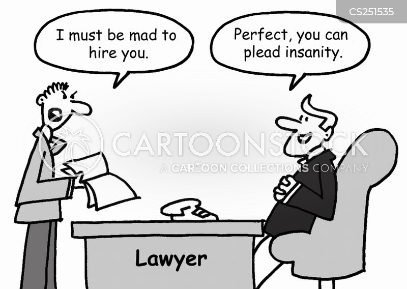 pleas of insanity Temporary insanity: the strange life and times of the perfect defense  defendants may stand trial (or enter valid pleas), the only type of insanity.
