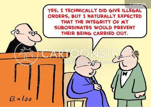 subordinates cartoon