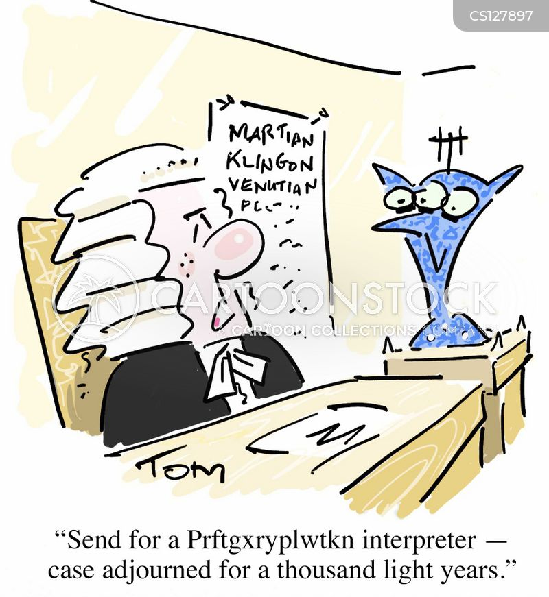 interpreter cartoon