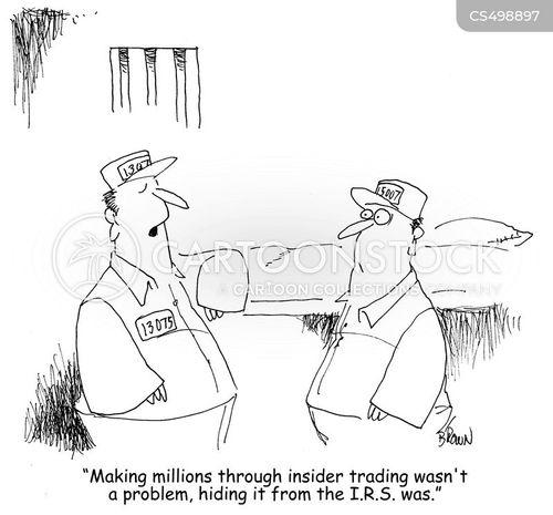 inside trade cartoon