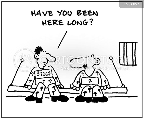 prison number cartoon