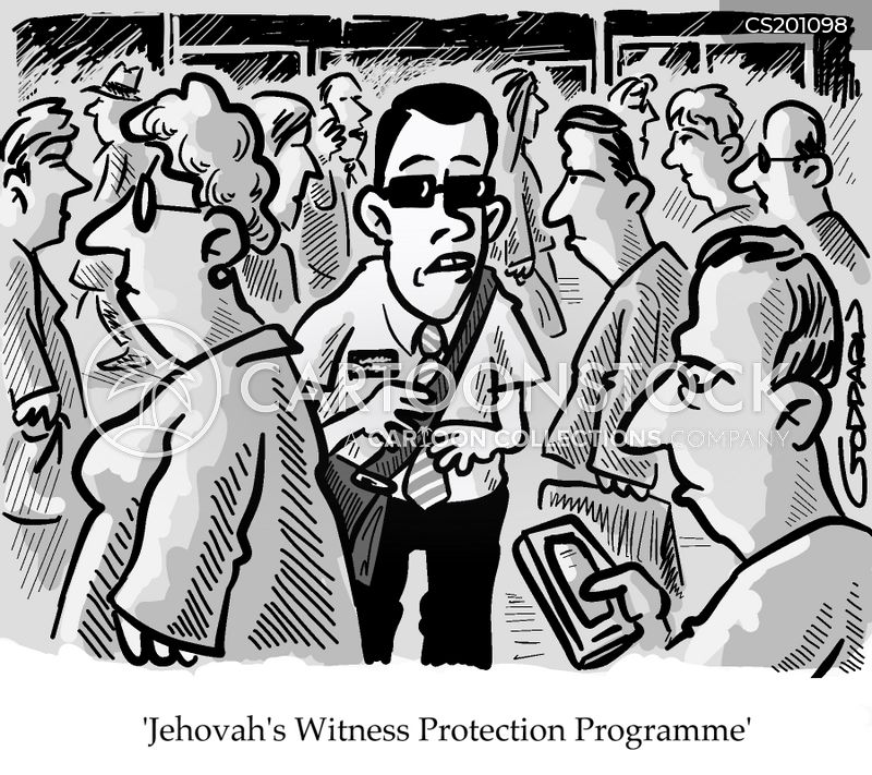 witness protection programs cartoon