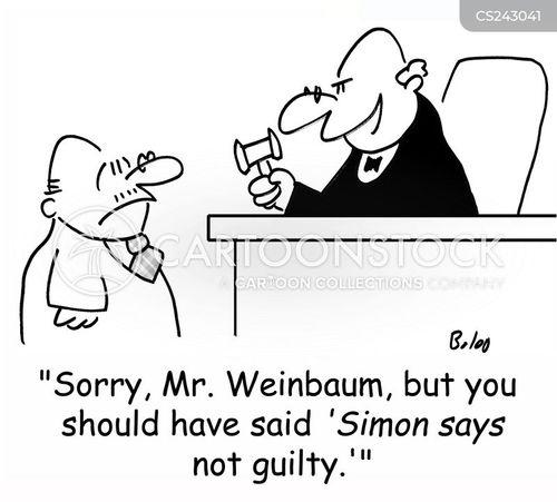 simon says cartoon