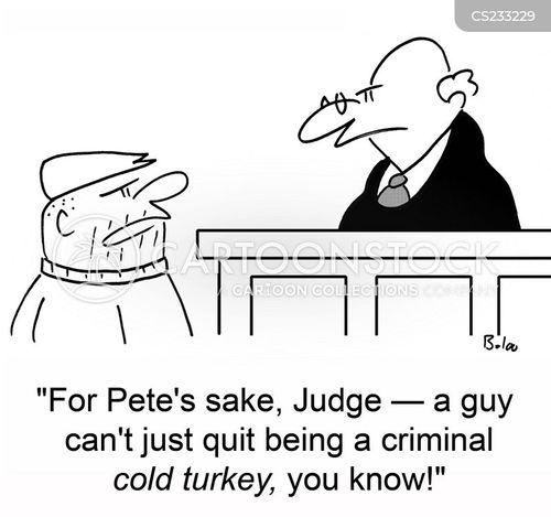 cold turkey cartoon