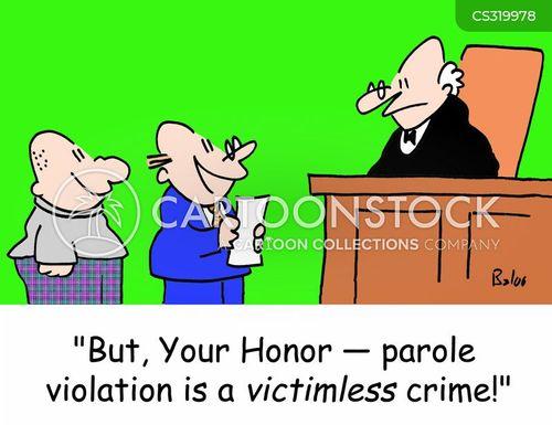 crime victims cartoon