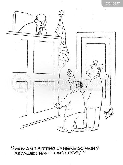 lanky cartoon