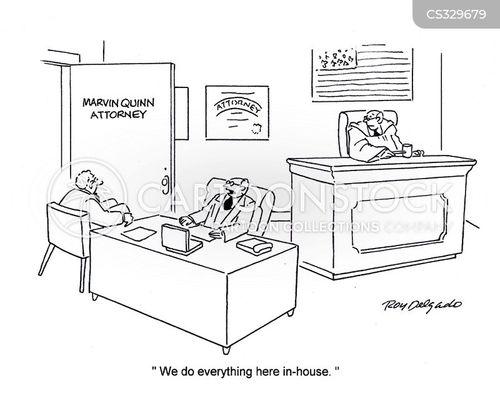 in-house cartoon