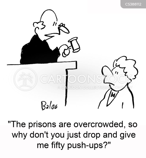 push-ups cartoon
