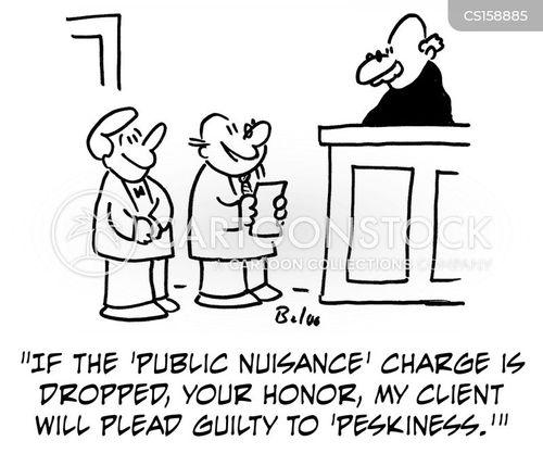 public nuisance cartoon