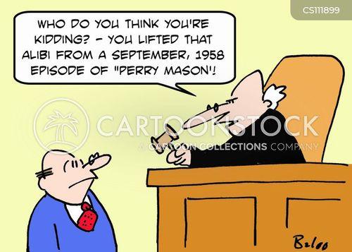 perry mason cartoon