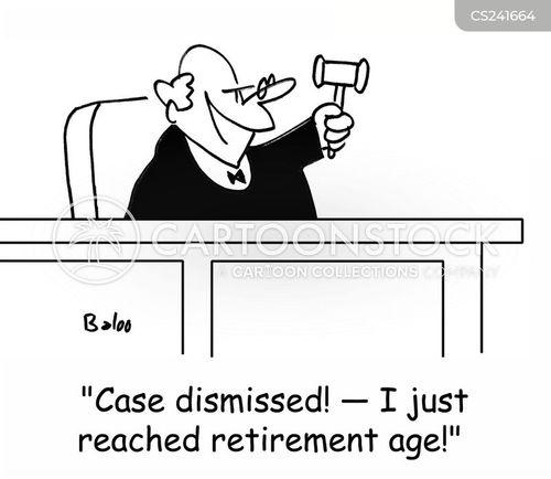 case dismissed cartoon