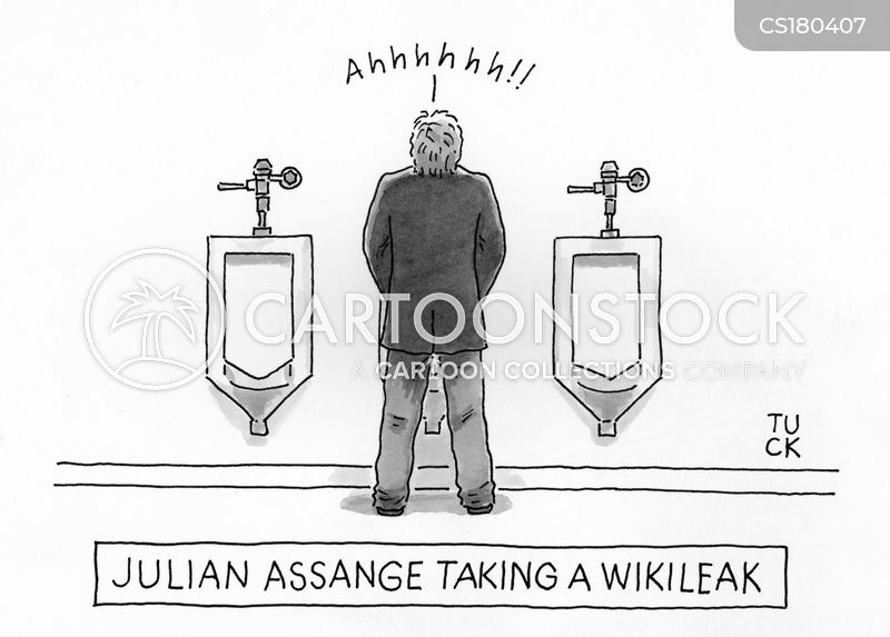 taking a leak cartoon
