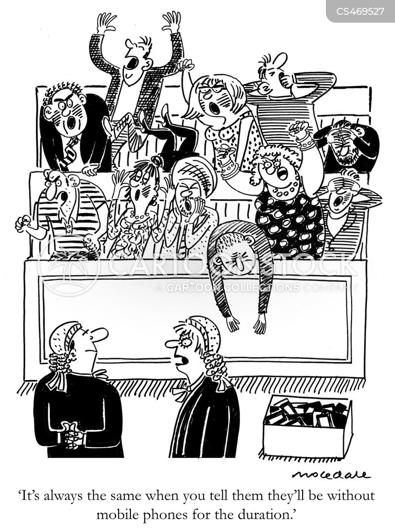 Jury Service Cartoons and Comics - funny pictures from