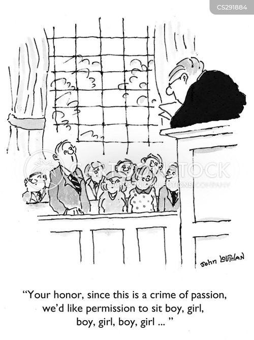 crime of passion cartoon