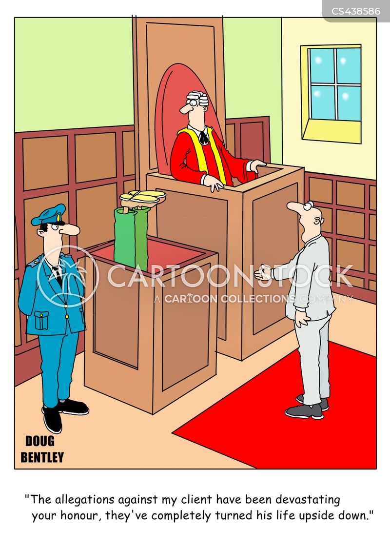 due process cartoon