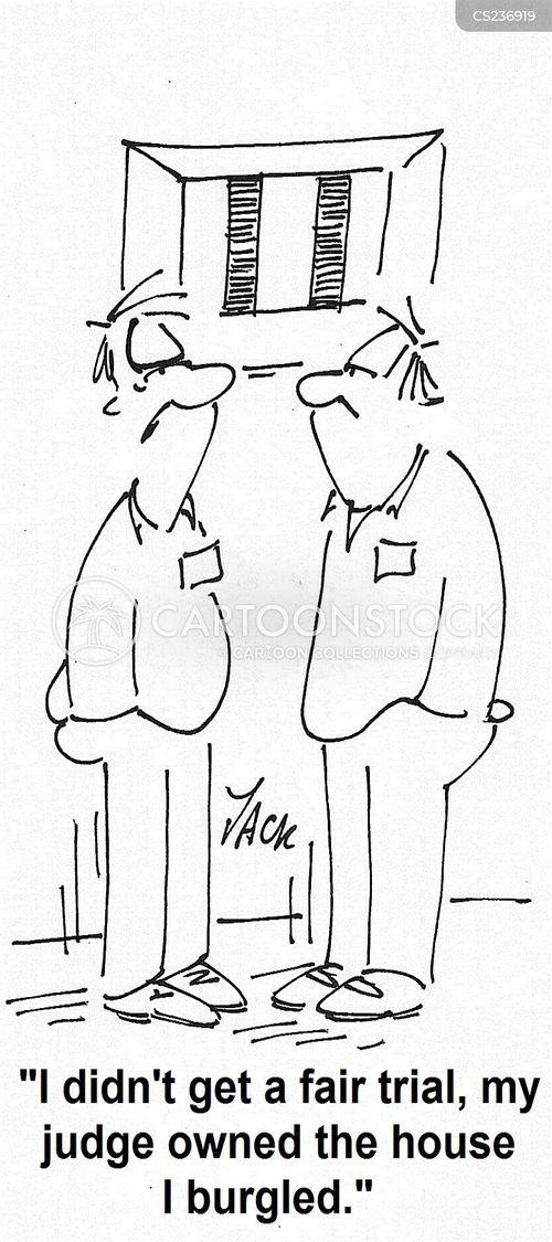 fair trials cartoon