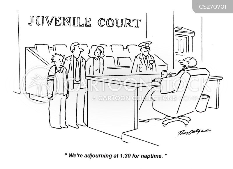 adjourned cartoon