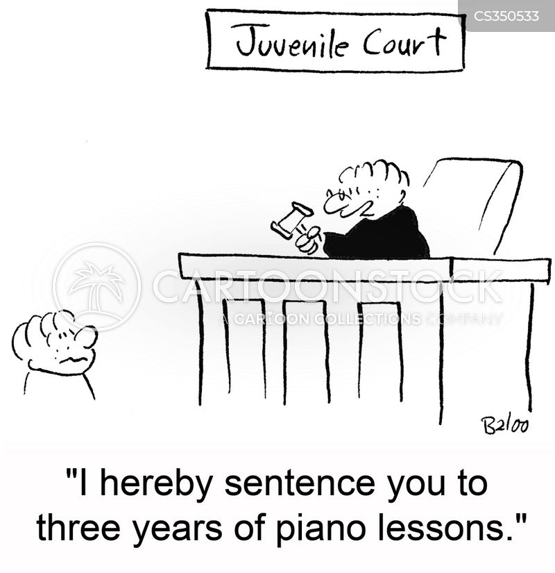 juvenile court cartoon
