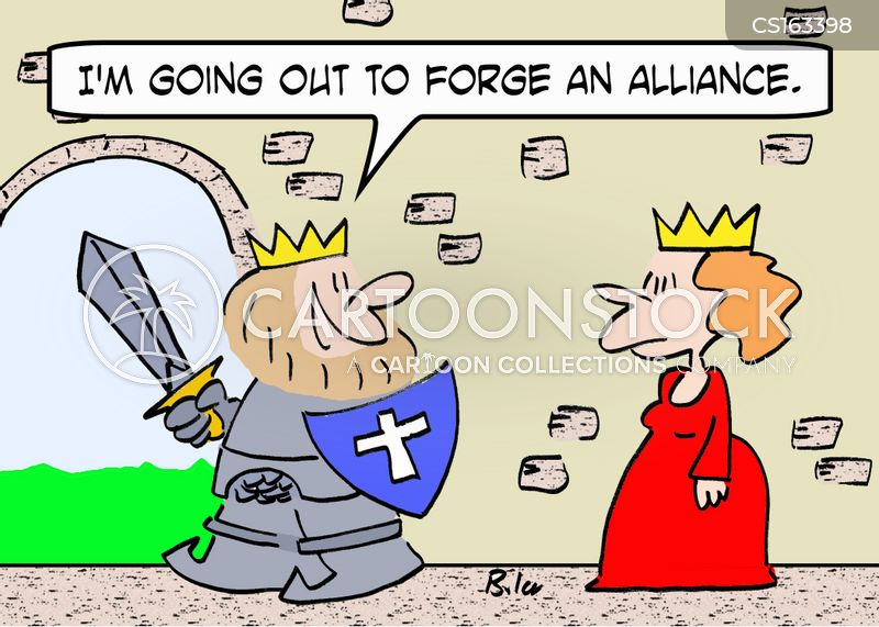 alliance cartoon