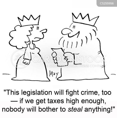 fighting crime cartoon