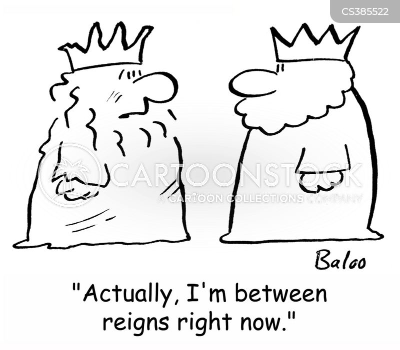 reigns cartoon