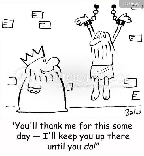 enchained cartoon