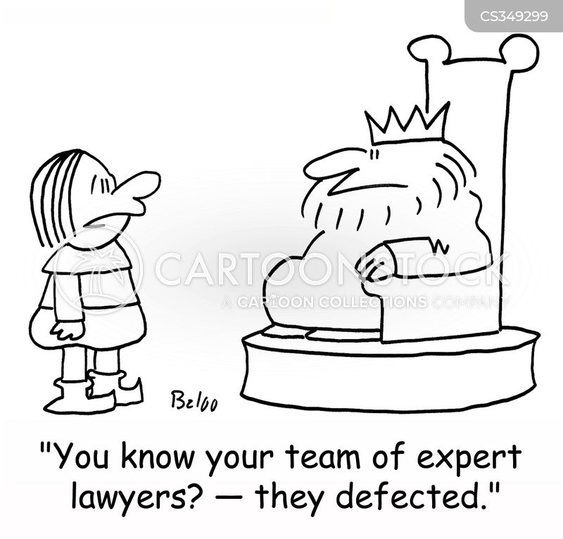 legal expert cartoon