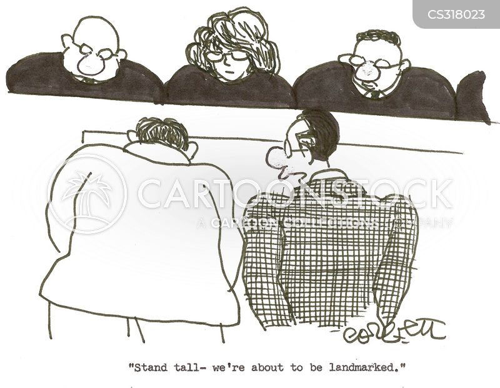 landmark decision cartoon