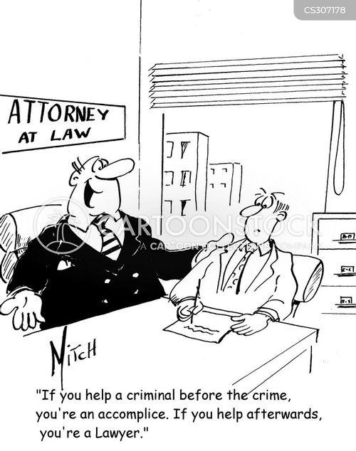 attornys cartoon
